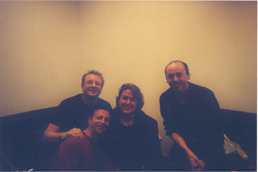 Amira Metodieva with John Miles and The Electric Band_dec2004